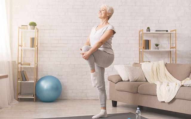 Pilates kod starijih osoba